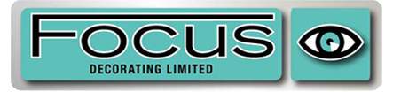focus decorating contractors logo - commercial decorating bedford